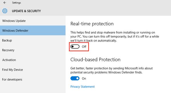 Disable-Windows-Defender